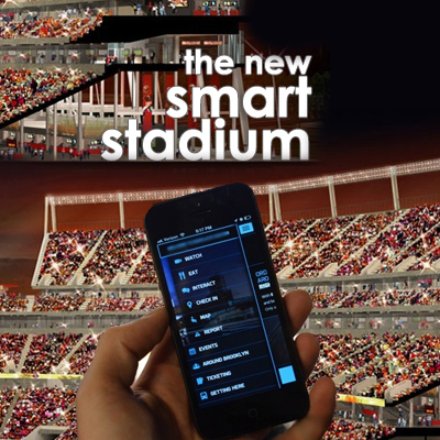 Levi's Stadium – the new 'smart stadium'