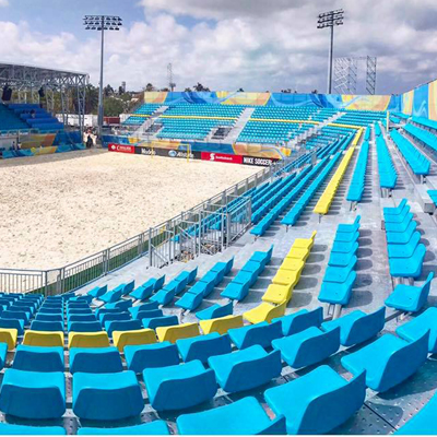Pakar Seating - New Beach Soccer Stadium in Bahamas