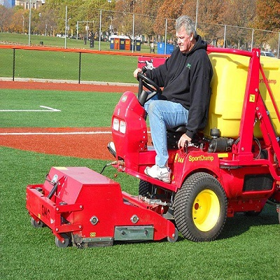 Selecting the right maintenance and cleaning machinery plays a key role in ensuring a top quality synthetic sports surface.