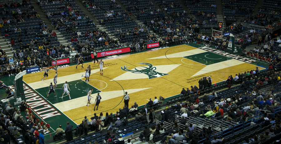 NBA Basketball Floor