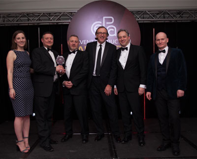 Arena Triple Triumph At Event Production Awards