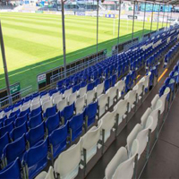 Arena Seating demountable grandstands for Bristol Rovers