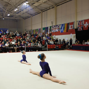 Arena Seating enable Bristol's Future Gymnastics Stars to Shine