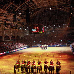 Arena Seating saddled up for 25th year at London International Horse Show