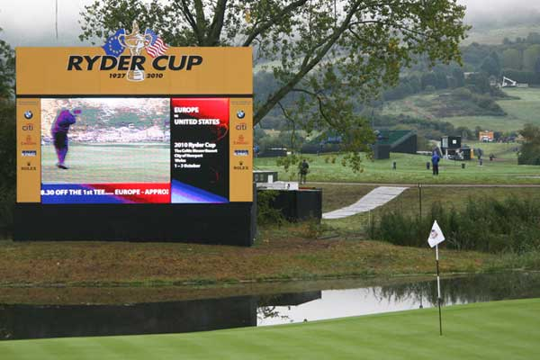Arena Scaffolding - Ryder Cup