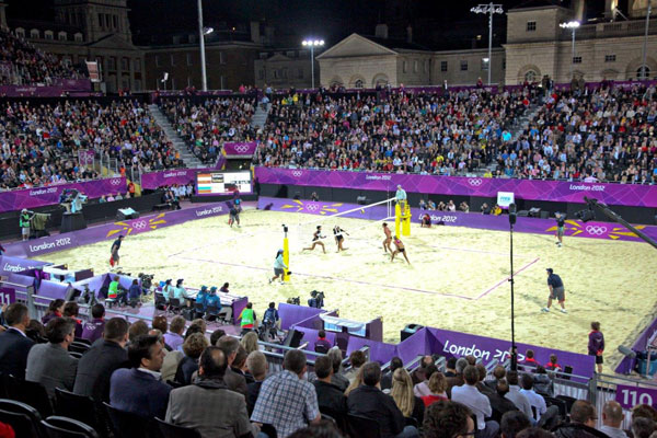 Arena Group Horse Guards Parade Beach Volleyball
