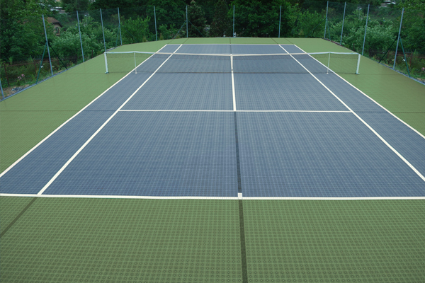 Tennis Court in Sweden