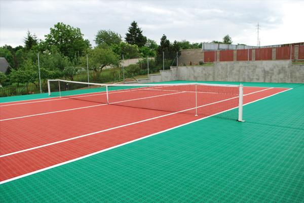 Tennis Court in Czech Republic
