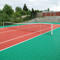 Tennis Court in Czech Republic