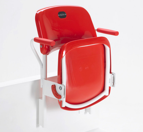 Charlie - Collapsible chairs for stadium