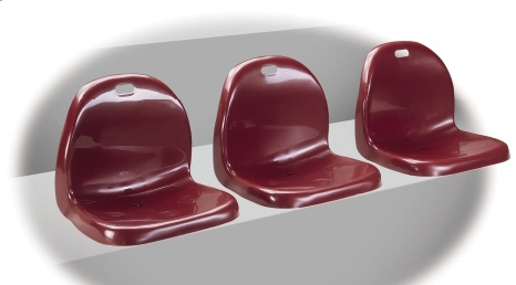 Omega - Polypropylene Seating