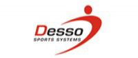 Indoor football tournament on Desso Mobile : a transportable sports pitch which can be easily dis- and assembled