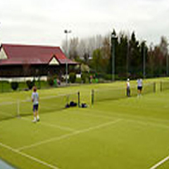 Training courts at TC Wimbledon, UK