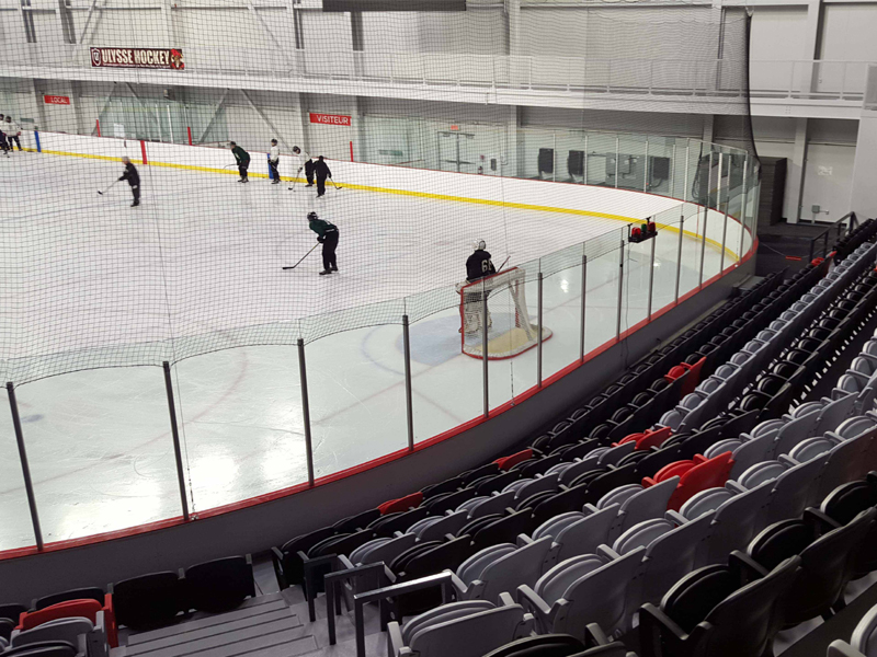 Arena Hockey St. Rock. Montreal. CANADA