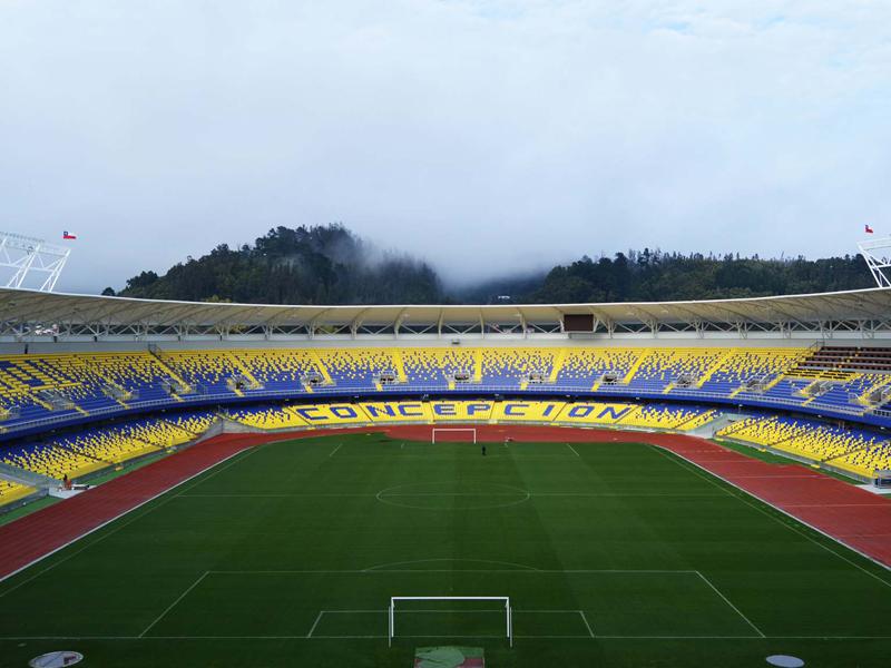 Estadio Municipal Concepción. CHILE