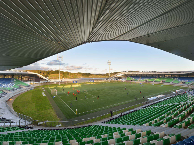 Estadio Regional de Chinquihue. Puerto Montt. CHILE