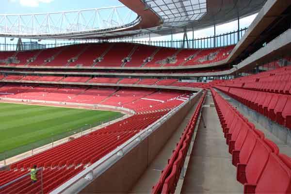 Arsenal Emirates Stadium, UK