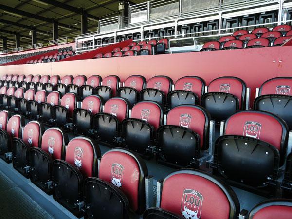 Permanent Stadium Seating