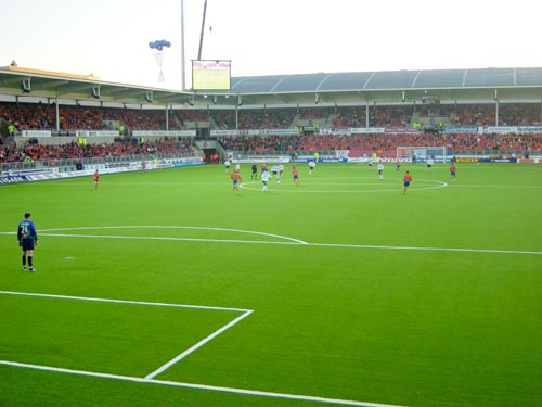 Alesund Stadium, Norway