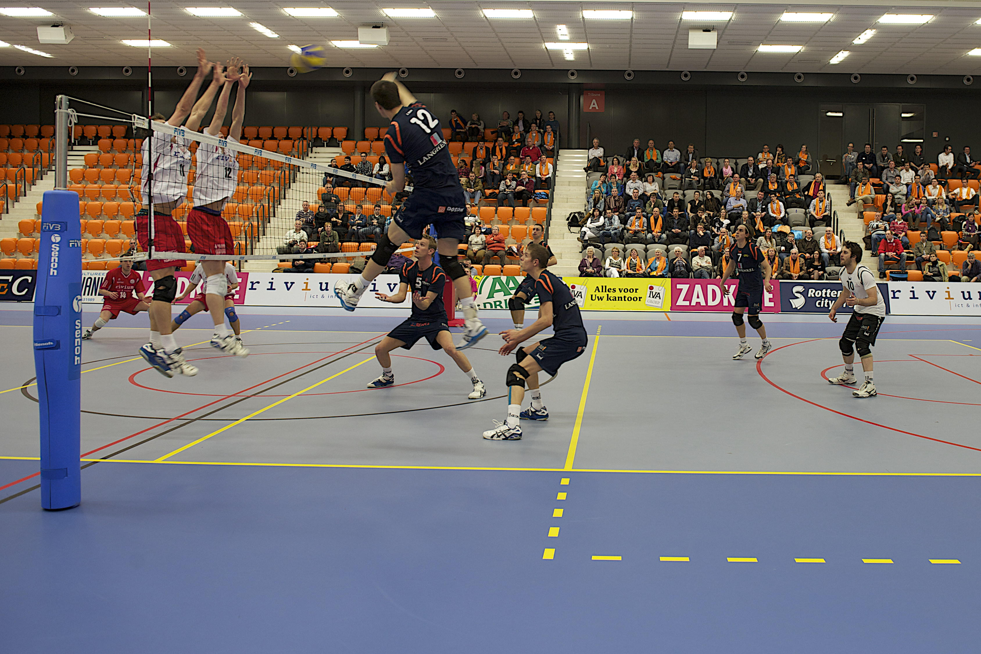 Topsport Centrum Rotterdan Volletbal 56