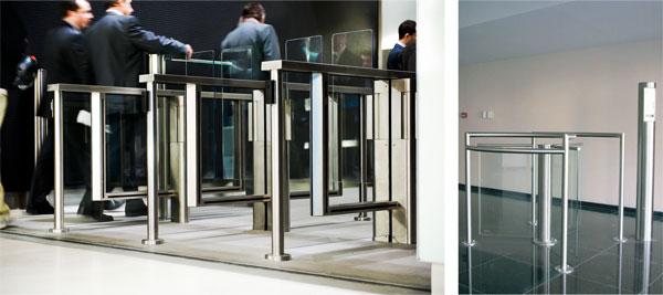 Sensor barriers & Half-height turnstiles