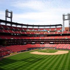 The new Busch Stadium in St. Louis, Missouri.