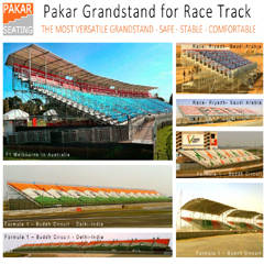 Pakar Grandstand for Race Track 2