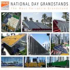 Pakar National Day Grandstands