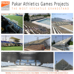 Pakar Seating Athletics Games