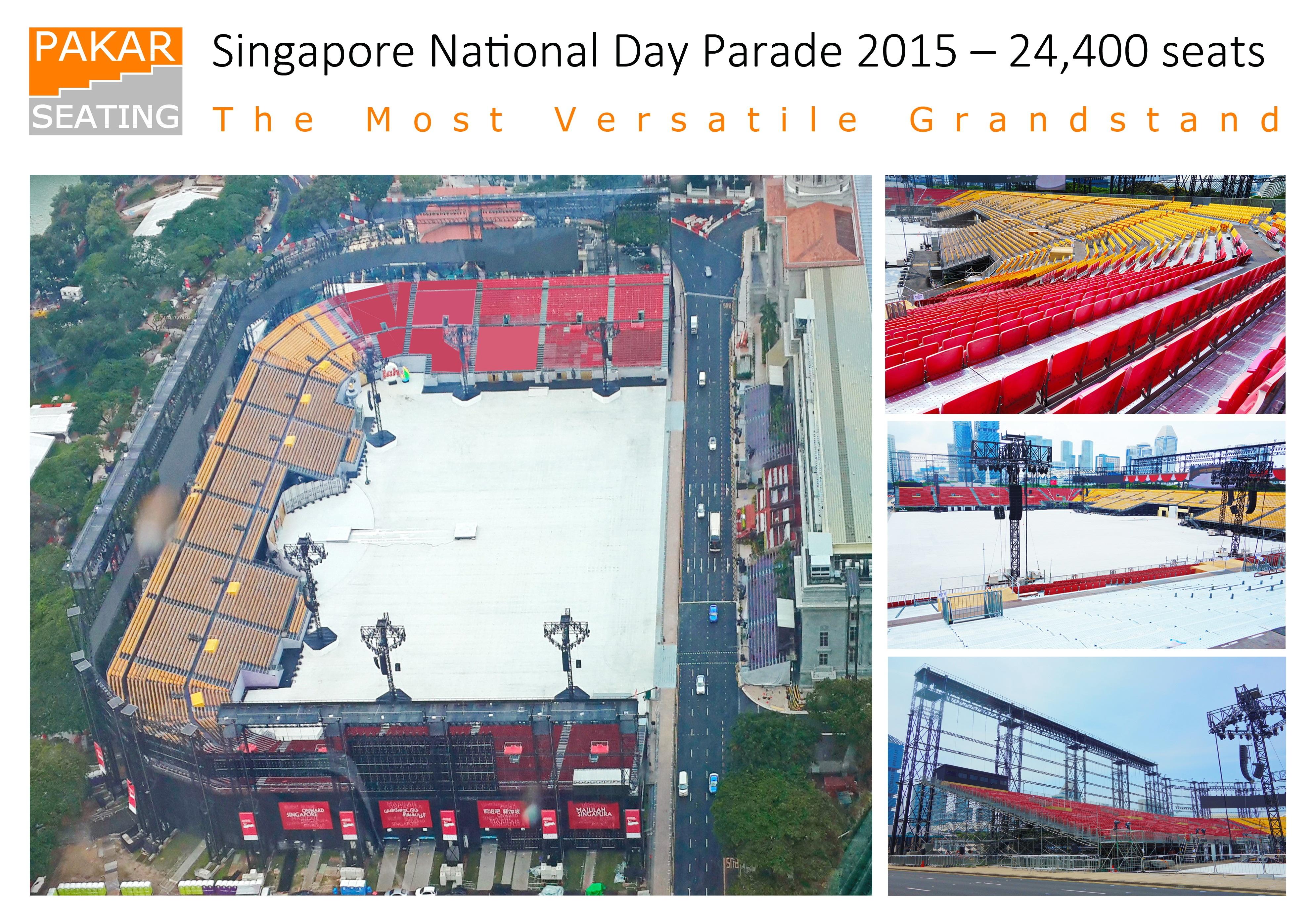 Singapore National Day Parade 2015