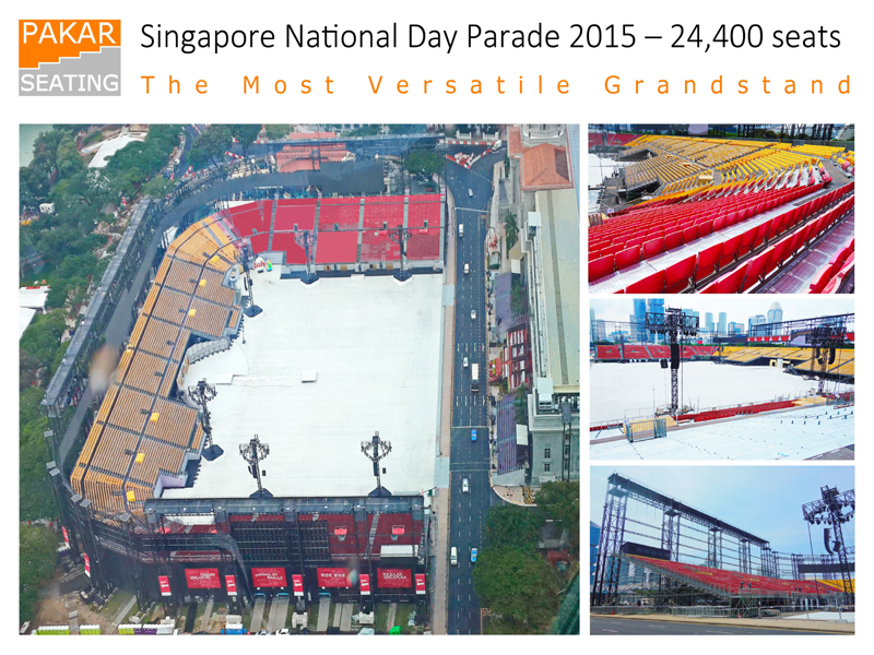 Singapore National Day Parade 2015