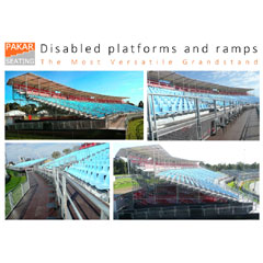 Disabled platform and ramps