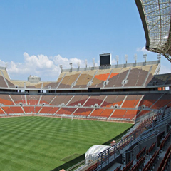 Stadium in Polokwane, South Africa