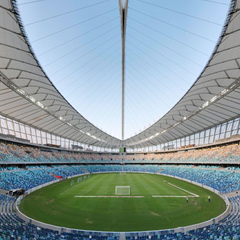 Stadium in Durban, South Africa