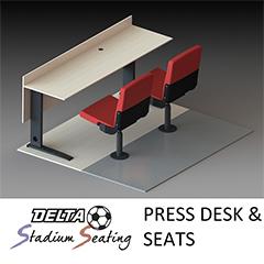 Press Desk & Seats